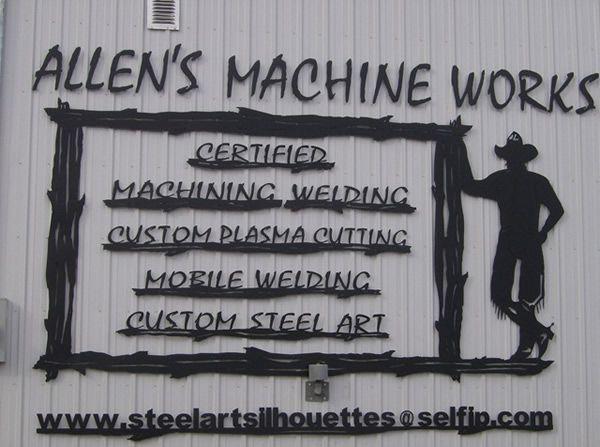Steel Art Silhouettes